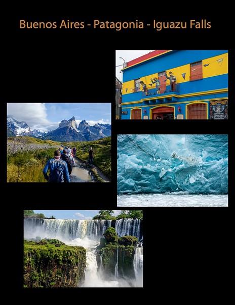 2020 01-02 Buenos Aires-Patagonia-Iguazu