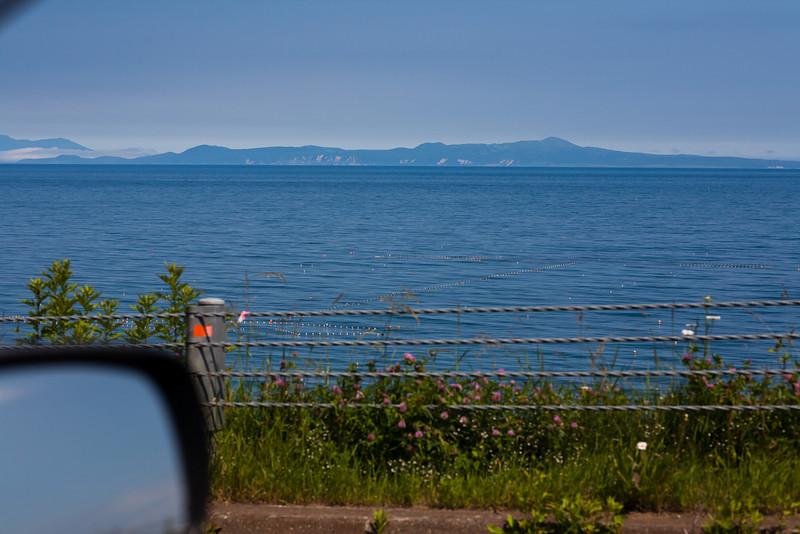 国後が見えた - Hokkaido, July 2010