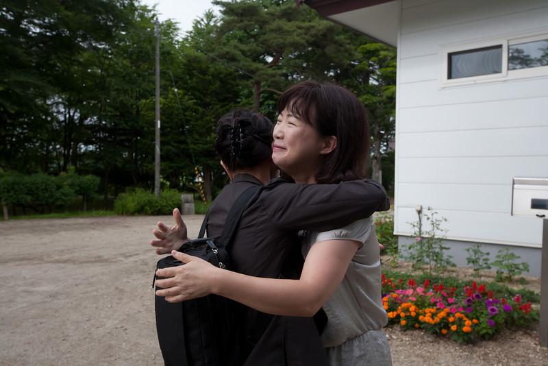 お出迎え - Shorakuji, Hokkaido, July 2010