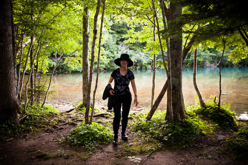 オンネトー湖茶屋から - Lake Onneto, Hokkaido, July 2010