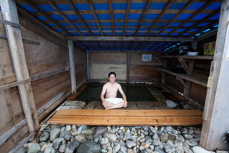 相泊温泉。車で行ける最東地点 - Shiretoko, Hokkaido, July 2010