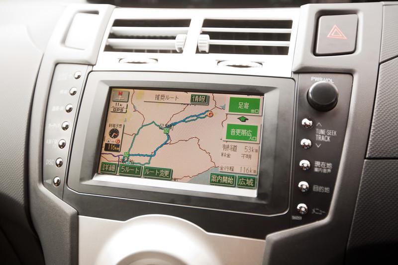 初日はちゃんと動いていたナビ - Hokkaido, July 2010<br /> なのに二日目からどんどん調子が悪くなり、最後は「か」と入力しても「ふ」とか出てきたりして、まったく役立たずになってしまった。