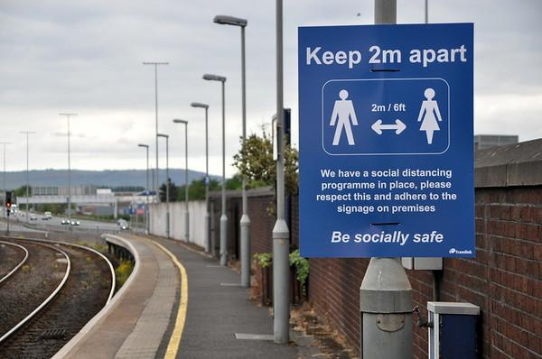 Social Distancing guidance at Yorkgate. Fri 15.05.20