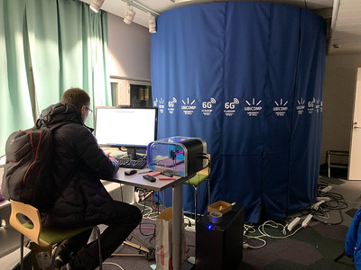 A 3d-scanner booth large enough for a person - University of Oulu.