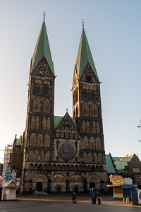 St. Peter's church, just of the central square in Bremen.