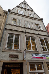 One of the oldest homes in Bremen - dated 1402.