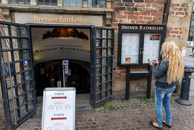 Bremen's Ratskeller, the largest(?) wine cellar in Germany.