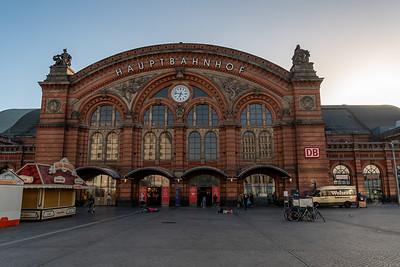 Haupbahnhof, Bremen.