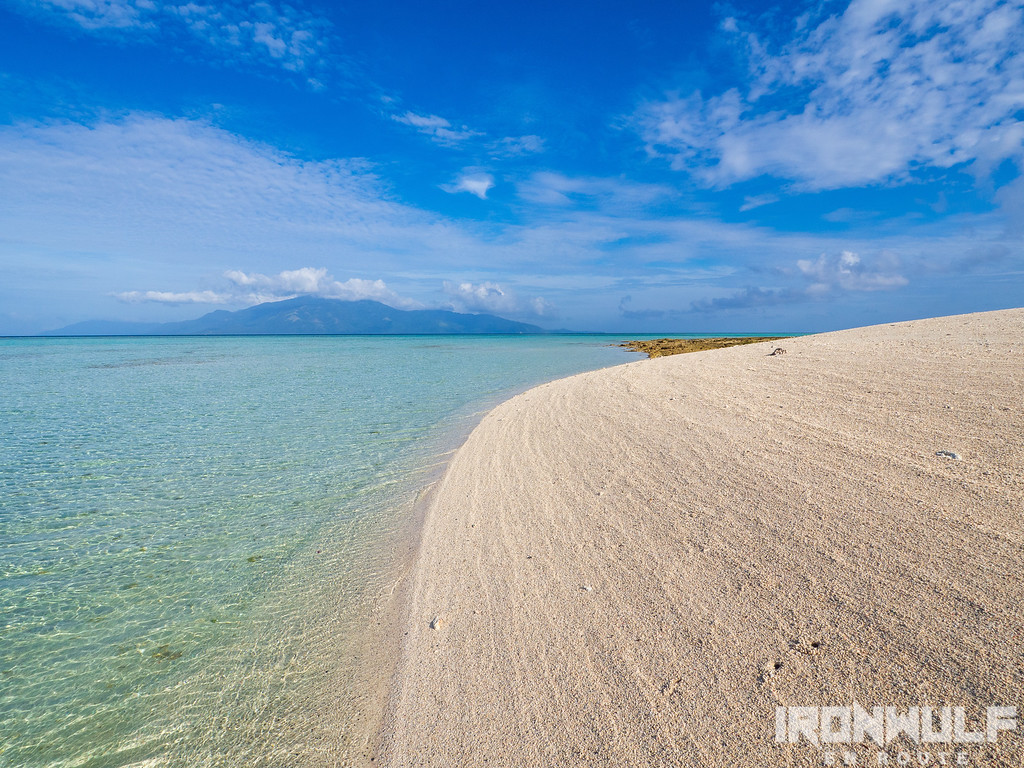 The sea, the sand and Sibuyan island