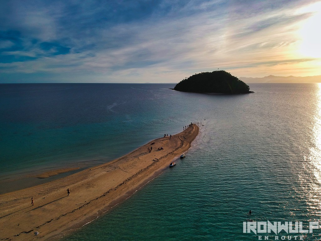 Sandbar leading to Bangug Island