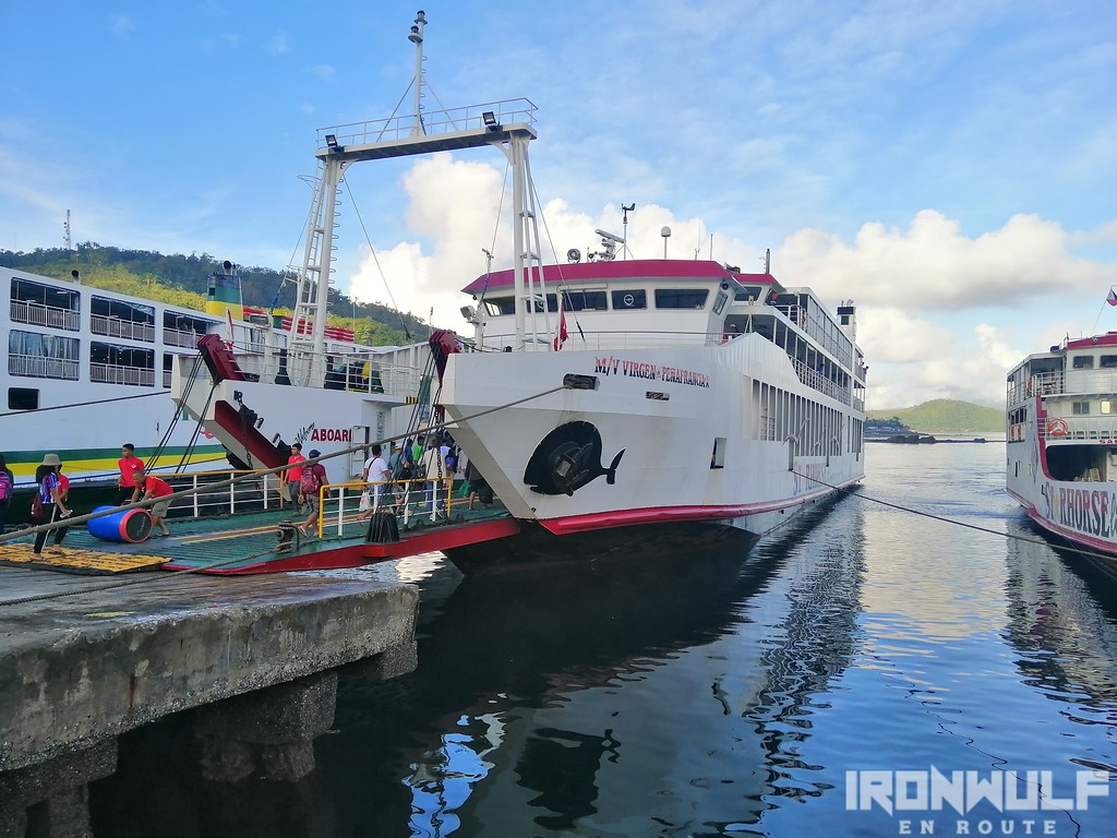 Ferries at the Port of Romblon