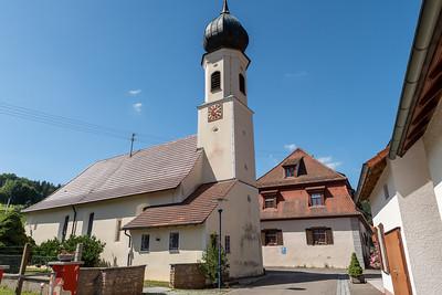The church in Sulzau.