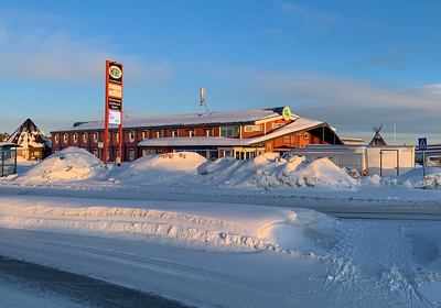 Hotel E-10, where I spent a night in Kiruna.