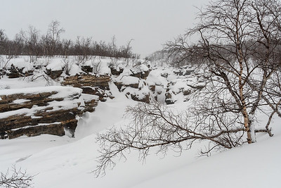 Upper canyon, Abisko.