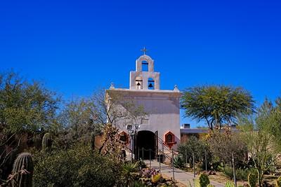 Side Chapel Mission San Xavier del Bac
