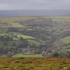 Widdecombe-in-the-Moor from Top Tor - Dartmoor - Devon (October 2020)