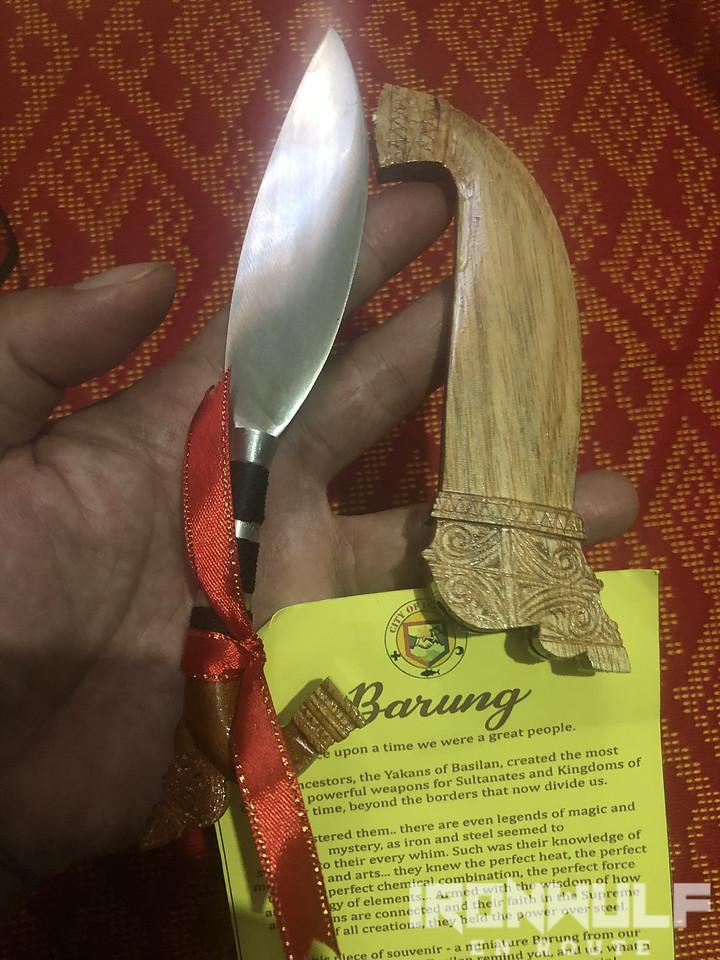 Miniature barung souvenir