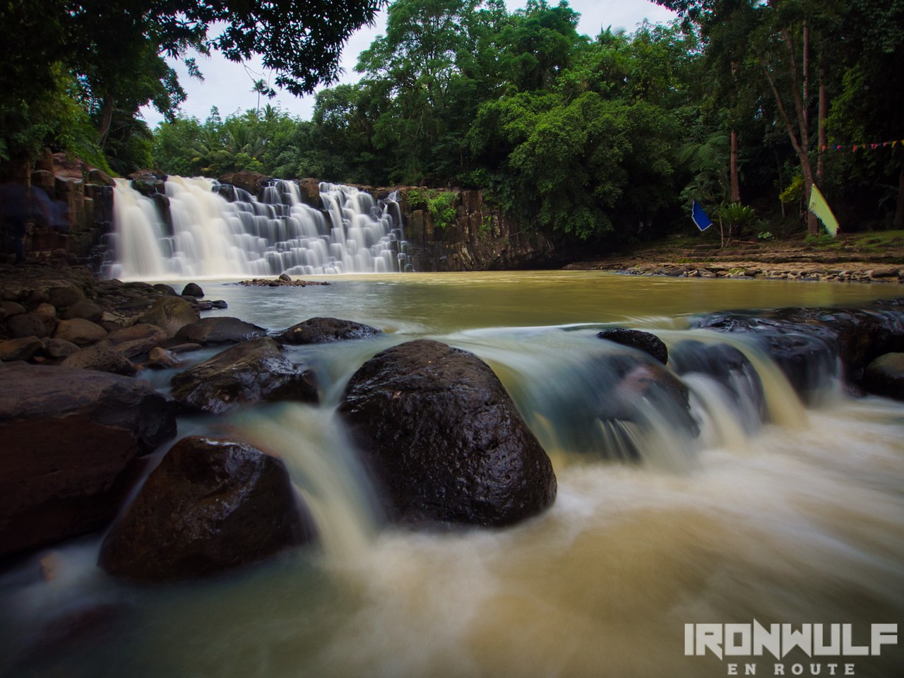 Bulingan Falls in Lamitan