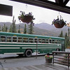 In this Sept. 13, 2011 photo, a green bus, the kind commonly used by hikers and