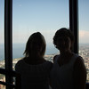 Amy and I on the Sky Deck