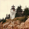 Bass Harbor Head Light, also much photographed