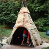 Tipi at Sieur du Monts