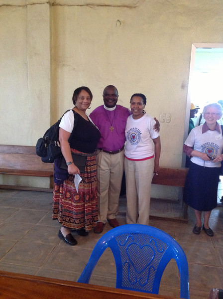 Eva Yeo, Bishop D. Jensen Seyenkulo and Valora Starr