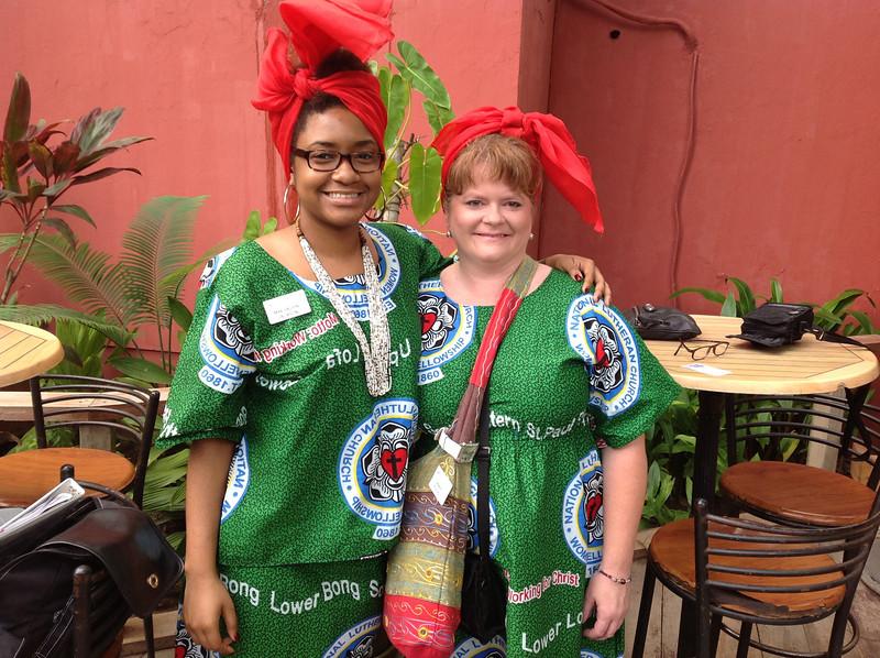 Mae Helen Jackson and Deana Fuchs