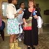 Mae Helen, Stephanie and Deane at St. Matthew's Parish.
