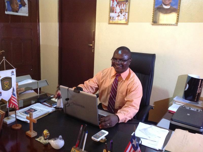Bishop Jensen Seyenkulo's office