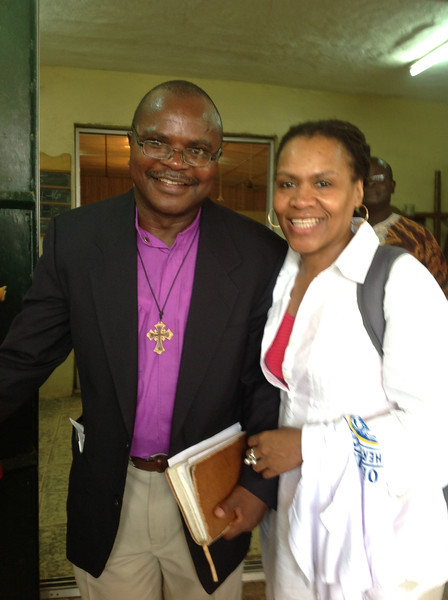 Bishop D. Jensen Seyenkulo and Valora Starr