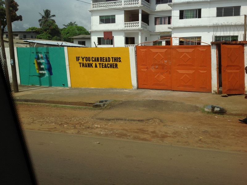 Liberia's emphasis on education is everywhere.