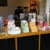 Window shopping in Carmel. Soaps of different flavors. Those little wrapped chunks=$20.