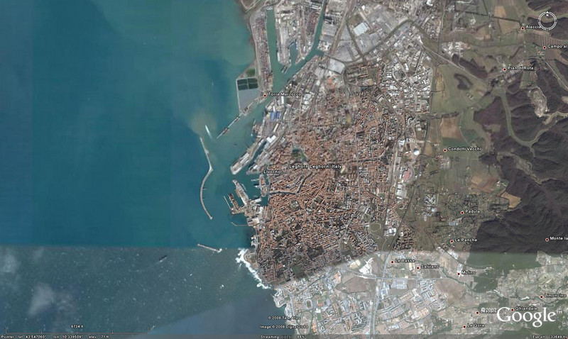 """<h1>Livorno, Italy</h1><h3>(Gateway to Florence)</h3> <h2>Day 21 Arrive: 7:00am April 25, 2008 Depart: 8:00pm April 25, 2008</h2>As we had an early bus transfer to Florence we ordered breakfast in our room and discovered it to be delightful.  Everything was hot, ample and in some ways better then the cafe food.  It was fortunate we'd ordered room service as they steward woke us since Mike set the alarm for 6:30pm.<br><br>After about an hour bus ride we got to Florence.  We walked to the Piazza del Signoria and visited the Placia Vecchiao.  Fabulous rooms of frescoes and decorated ceilings.  A copy of the famous David statue stood in the plaza.<br><br>Then off to a museum.  Shirley stayed dow stairs while Mike and Louise toured the second level.  We headed toward the Cathedral and had a nice lunch of sandwiches, wine, and gelato in a little shop en-route.<br><br>We got a bit of a show for some of the local """"vendors"""".  Apparently there are many that are unlicensed and the police are trying to address the problem.  So every now and then you would see many vendors suddenly grab all there stuff and start running.<br><br>We toured the Cathedral and headed back to our bus.  We met the tour director waiting for everyone to arrive and Mike asked if he had time to run off and buy some wine.  It  turns out he didn't but since she had said yes, she couldn't complain that he was late getting back.<br><br>Nancy had taken a tour to Pizza so we didn't see her until we were returned to the ship.<br><br>Back on the ship that night it was dinner, dancing, comedy act and bed."""