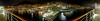 <h2>Monte Carlo, Monaco</h2> We were docked in the harbor for a night.  So I came up to the top deck of our ship and shot this panoramic stitch.