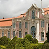 <h2>Queluz National Palace</h2><h3>Queluz, Portugal</h3> This is a view of the Palace from the garden.