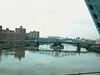 Crossing over the Harlem River into Manhatten proper.
