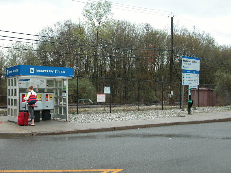 We drove down to the Southeast train station just off of I84, then took the train into NYC.  Parking is $6.25 per day, free for the weekends.