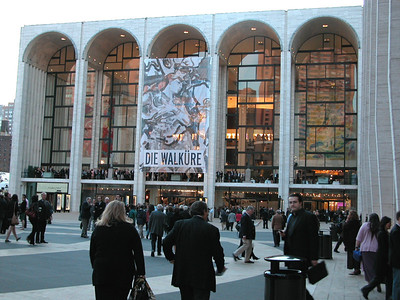 The Metropolitan Opera House.  We saw Verdi's Rigoletto.  I wish you could take photos inside the Met, it is an amazing building.