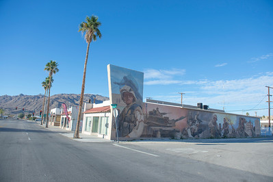 This is a town of many murals