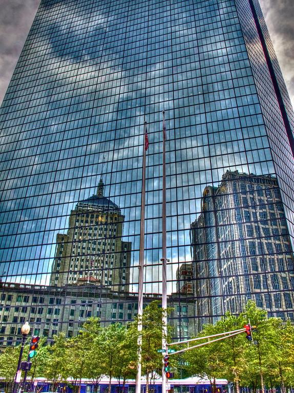 Reflection on John Hancock Building