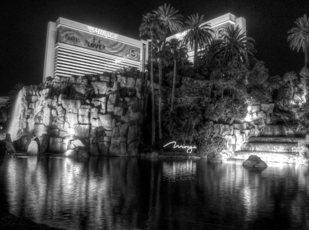Mirage at night