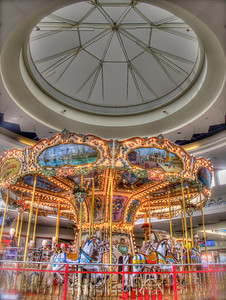 carousel in the food court
