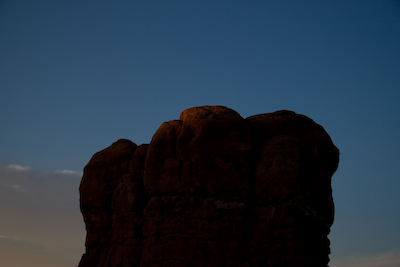 Sunrise at Balanced Rock