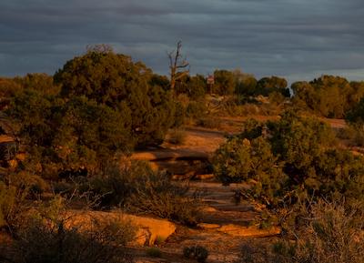 sunset-Orange Cliff overlook