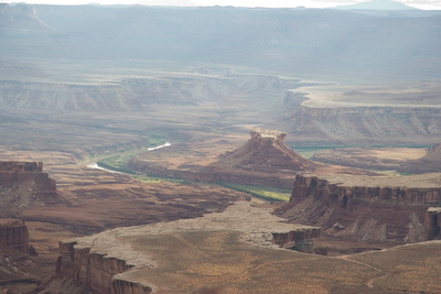 Canyonland's Grand View overlook
