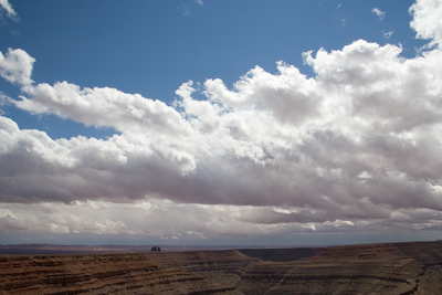 Goosenecks state park north of Mexican Hat