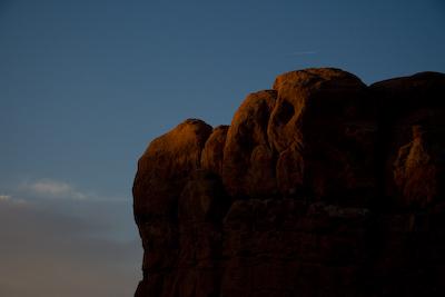 Sunrise at Balanced Rock