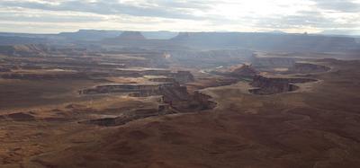 Canyonland's Grand View overlook