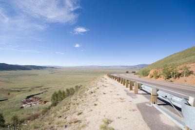 Kenosha pass west of Denver